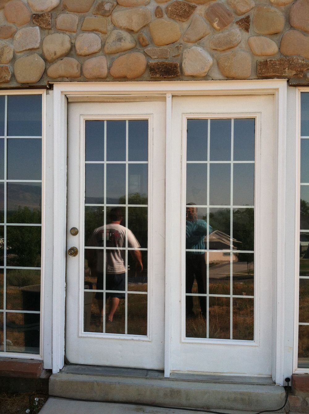 1 After Exterior Doors